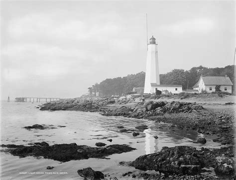 Five Mile Point Light by Five Mile Point New Lighthouse Connecticut At