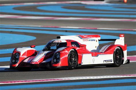 Toyota Race Toyota Racing Unveils 2012 Ts030 Hybrid Le Mans Race Car
