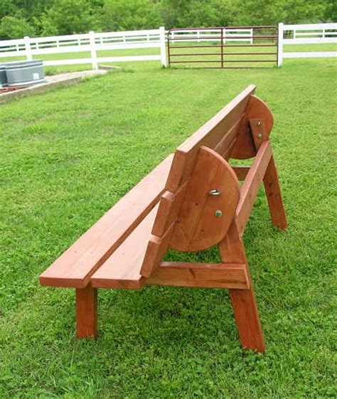 bench that converts to table pdf diy convertible bench table plans download corner