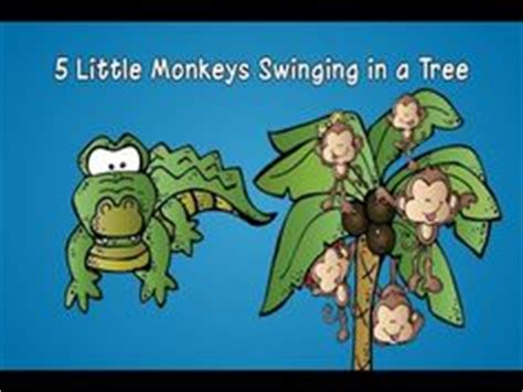 monkey swing song 1000 images about monkey songs on pinterest five little