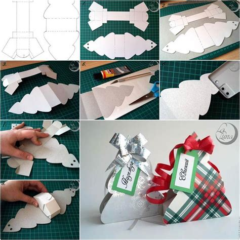 creative ideas diy cute christmas tree gift box