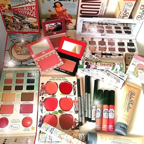Balm Makeup the balm cosmetics cosmetics