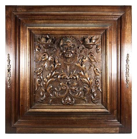 Carved Cabinet Doors Opulent Carved Antique Cabinet Door Plaque In Neo Renaissance From Antiques Uncommon