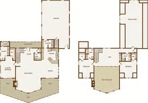 log cabin floor plans with garage two bedroom cabin with loft plans joy studio design
