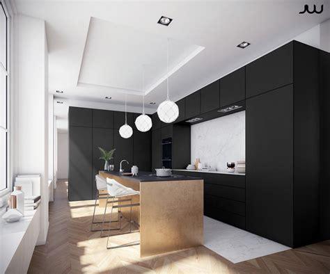 Kitchen Island Stools Ikea 36 stunning black kitchens that tempt you to go dark for