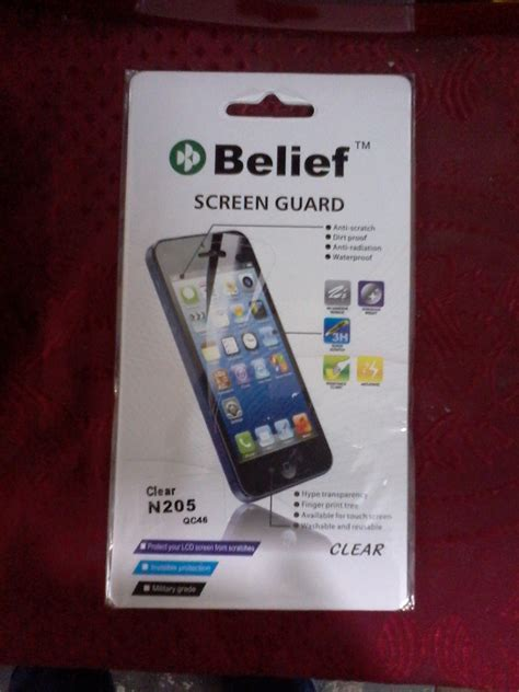 Screen Guard Bening Nokia Asha 205 shopping store buy mobiles phone computers tablets pc home appliances