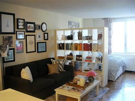 Studio Apartment Living Room Ideas Ikea Room Divider Could Look Cluttered Quickly Favorite Places Spaces