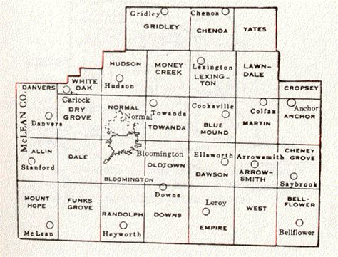 Mclean County Search Mclean County Illinois Maps And Gazetteers
