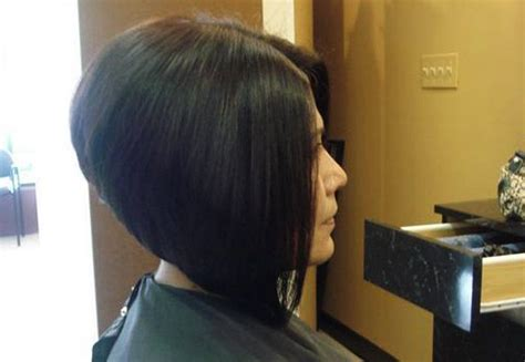 high angled stacked bob a line stacked bob haircut pictures hairxstatic angled