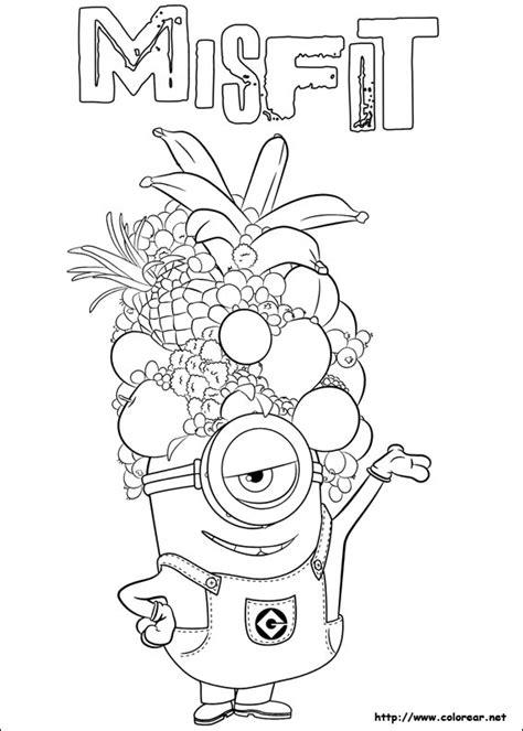 imagenes para dibujar de minions dibujos para colorear de minions