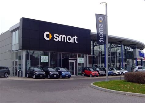 smart car dealership architecture branding mercedes gets wise with