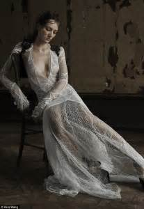 new trend sees brides to be donning and see through