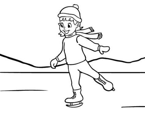 ice skating free printables girl ice skating coloring page ice skating pinterest
