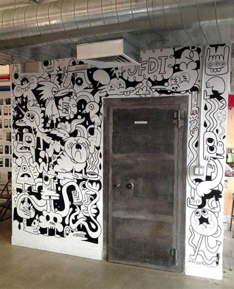 creative wall murals 21 incredibly cool design office murals office mural creative and walls