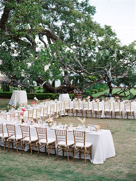 Backyard Wedding Layout Florida Garden Wedding 100 Layer Cake