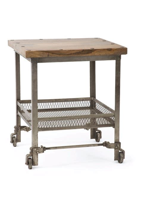 industrial side table by go home ltd 15885 the rustic