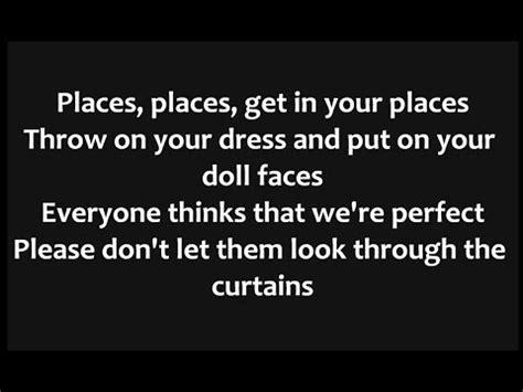 lyrics to doll house dollhouse lyrics buzzpls com