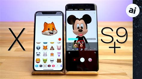 animoji vs ar emoji iphone x vs s9 plus mobile arena