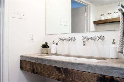 Chip Gaines Concrete Countertops A Fixer Upper Take On Midcentury Modern Hgtv S Fixer