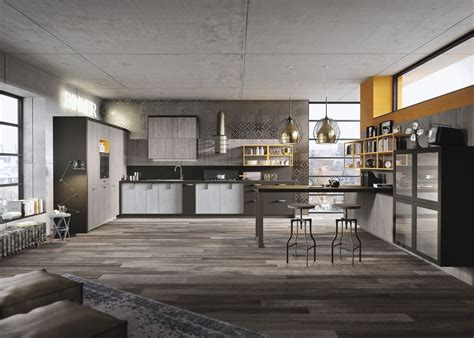 loft kitchen ideas industrial and rustic designs resurfaced by the new loft