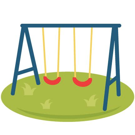 swing png playground swings svg scrapbook cut file cute clipart
