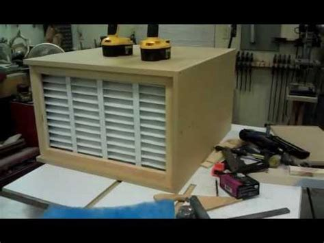 homemade shop air filtration system part  youtube