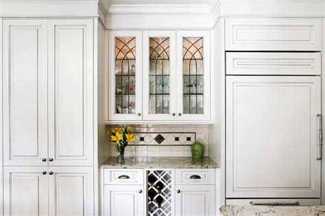 leaded glass kitchen cabinets bar with custom leaded glass upper cabinets traditional