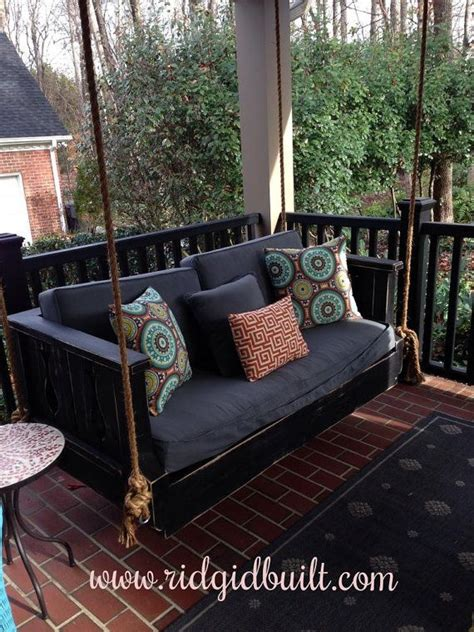 Daybed Porch Swing Custom Built Daybed Swings Farm Tables And More