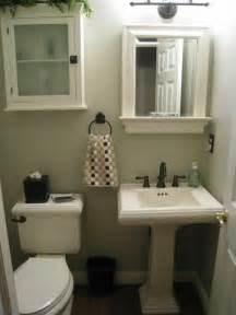 Small Half Bath For The Home Pinterest Small Half Bathroom Designs