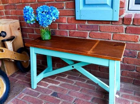 blue wood bench wood benches from droolbox 75 wooden wonders