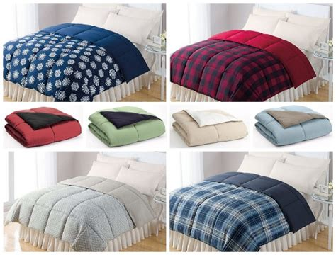 home design bedding down alternative kohl s home classics reversible down alternative
