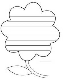 Pin flower shape poem template on pinterest