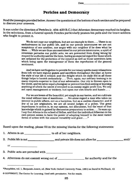 democracy worksheet the best worksheets image collection