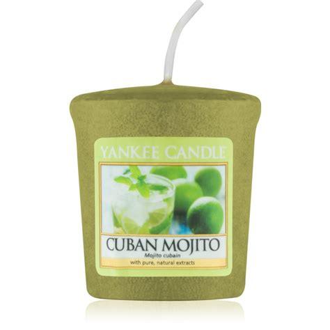 candela votiva yankee candle cuban mojito candela votiva 49 g notino it