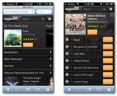 download mp3 from amazon to itunes amazon fires shot at apple itunes with ios targeted mp3