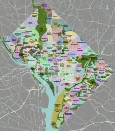 Map Washington Dc by Neighborhoods In Washington D C Wikipedia
