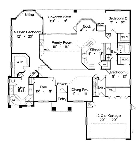 mediterranean style house plan 3 beds 2 baths 1250 sq ft mediterranean style house plan 3 beds 2 baths 2118 sq ft