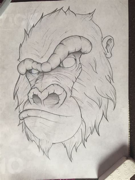 quick and easy tattoo designs best 25 gorilla ideas on mens sleeve