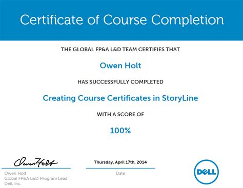 certificate design html create a course certificate in storyline with java and