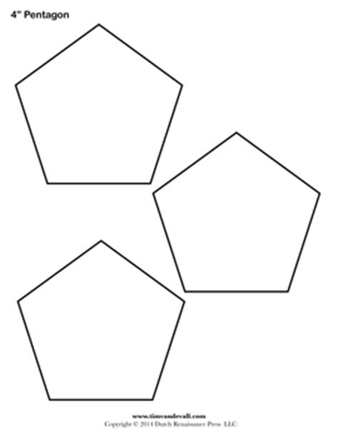 common worksheets 187 picture of a pentagon shape