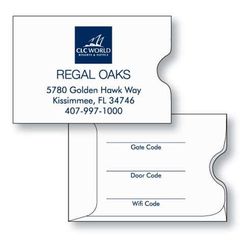 key card holder template hotel key card sleeve 2 3 8 quot x 3 1 2 quot custom printed