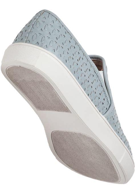 steve madden slip on sneakers steve madden excel slip on sneakers in blue for lyst