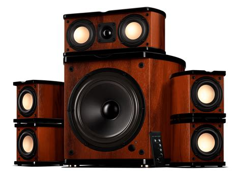 mini active home theater system swans speakers