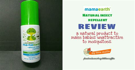 mama earth natural insect repellant review
