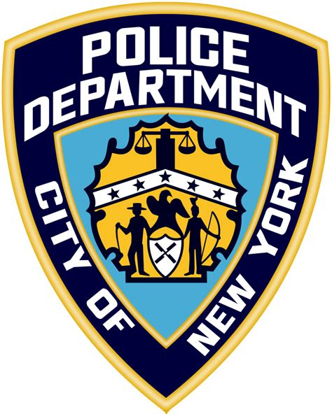 New York City Arrest Records File Patch Of The New York City Department Svg