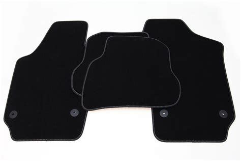 exclusive floor mats fits for vw polo 9n 2001 2009 l h d