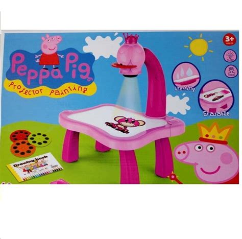 peppa pig projector painting 24 pattern set catch the deal