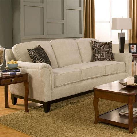 Carver Beige Fabric Sofa A Sofa Furniture Outlet