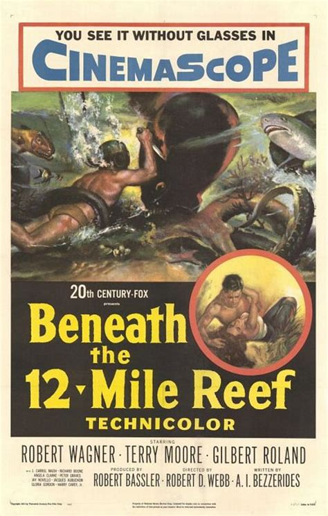 beneath the 12 mile reef 1953 robert wagner beneath the 12 mile reef 1953 world worth
