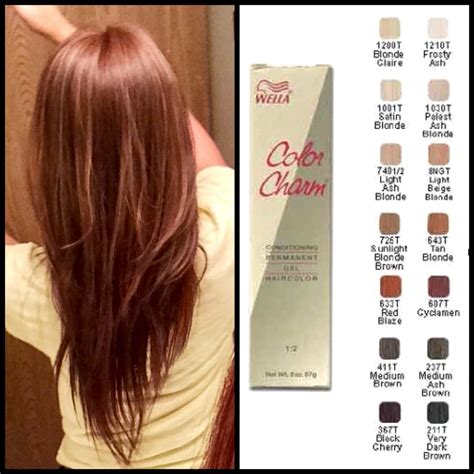 sallys hair colors my favorite affordable hair dye brand wella color charm